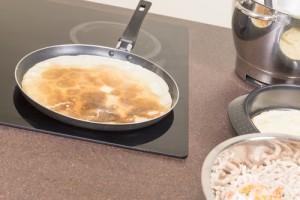 Frying Of Pancakes