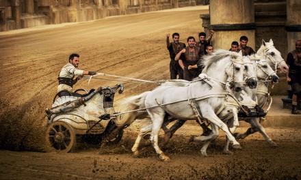 Wyścig kwadryg w filmie Ben-Hur