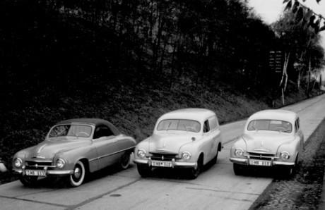 Skoda Wersje 1957
