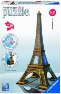 Ravensburger 3D Wieża Eiffla 125562
