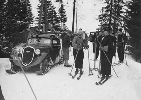 ŠKODA Popular: poskramiacz śniegu z 1934 roku