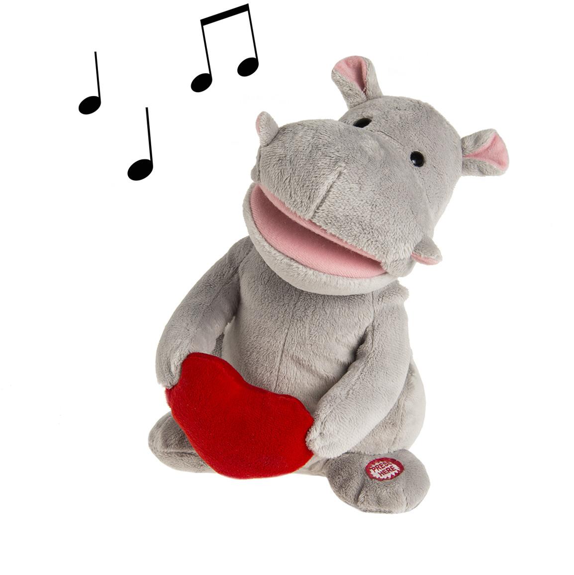 Smiki Hipopotam Gloria Zabawka interaktywna
