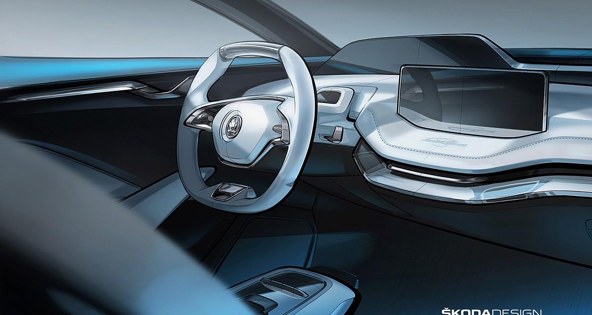 Vision E: pomysł Skody na elektryczny samochód