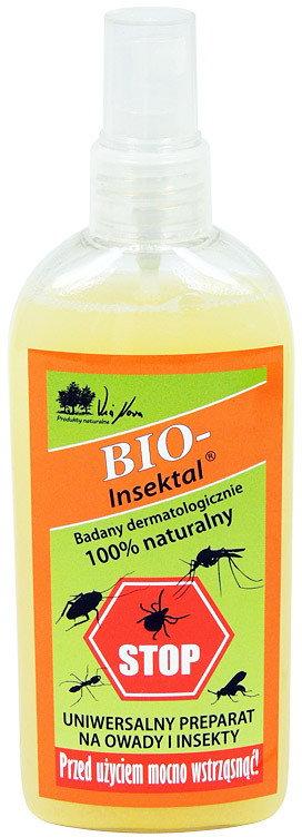 VIA NOVA Naturprodukte spray biobójczy na komary i kleszcze BIO-Insektal (250 ml