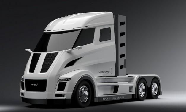Ciężarówki na wodorowe ogniwa paliwowe