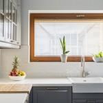4 sposoby na efektowne wykończenie okna w kuchni