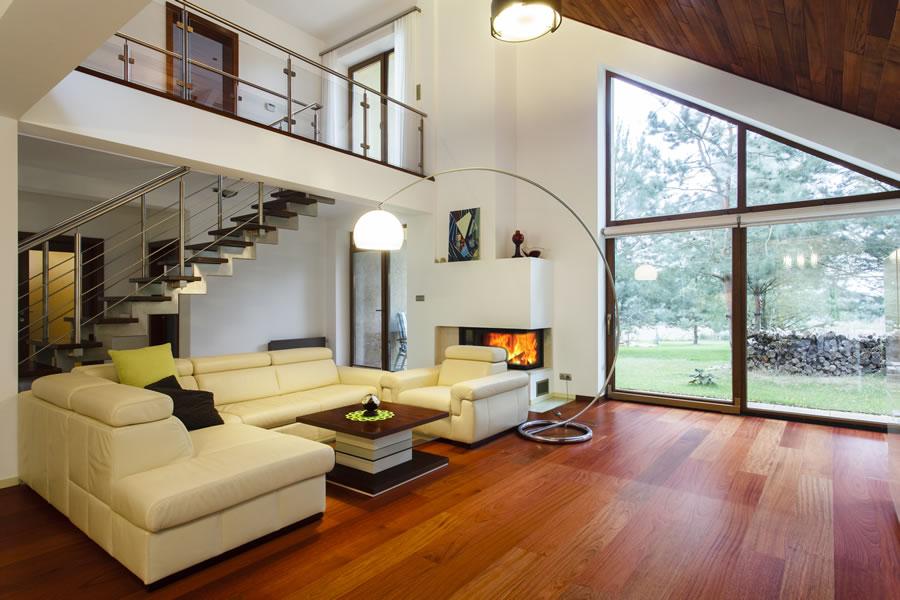Przyjazny oczom dom, w którym żyje się komfortowo