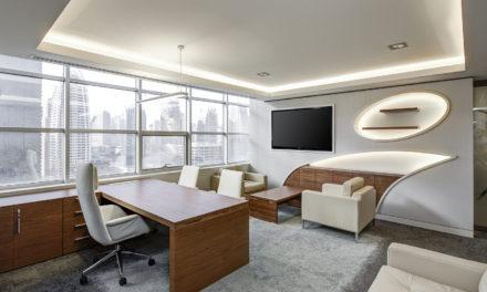 Fotele do designerskiego gabinetu i biura